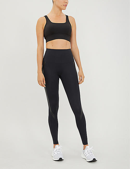 2XU High-rise full length compression leggings