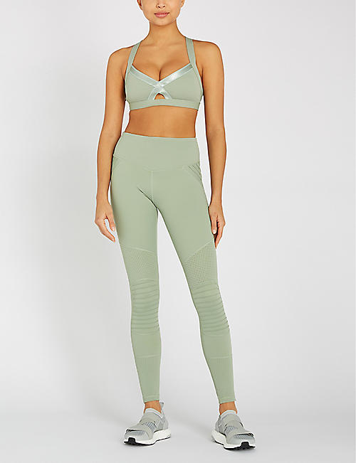 LURV Above The Clouds high-rise stretch-jersey leggings