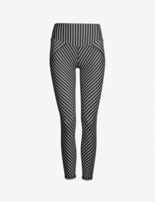 LURV Earning Stripes stretch-jersey leggings
