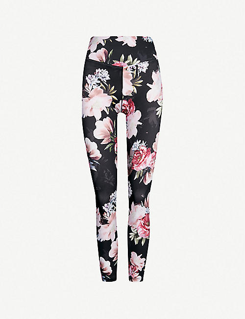 a61c939a1e LURV Moody Bloom stretch-jersey leggings