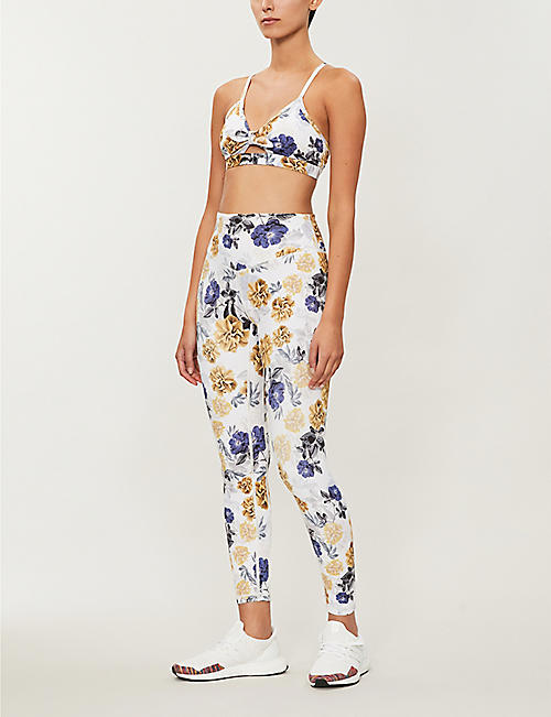 LURV Vintage Bloom stretch-jersey leggings