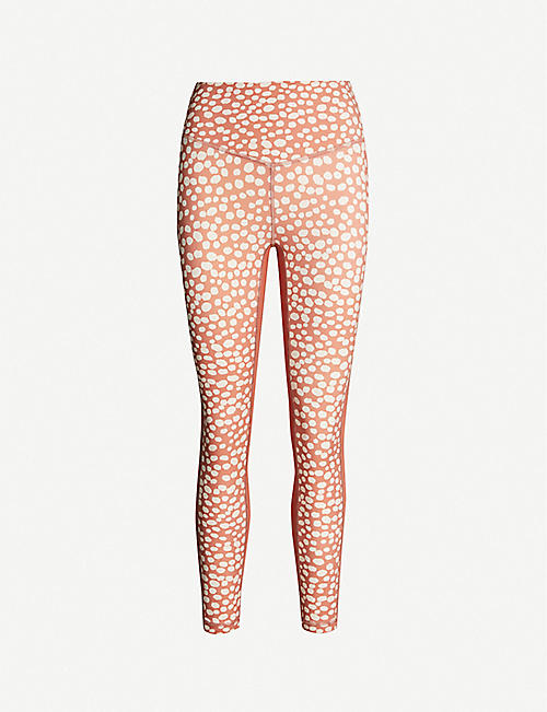 LURV Playful Purpose printed stretch-jersey leggings