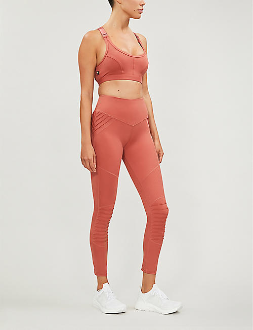 LURV Utopia Moto stretch-jersey leggings