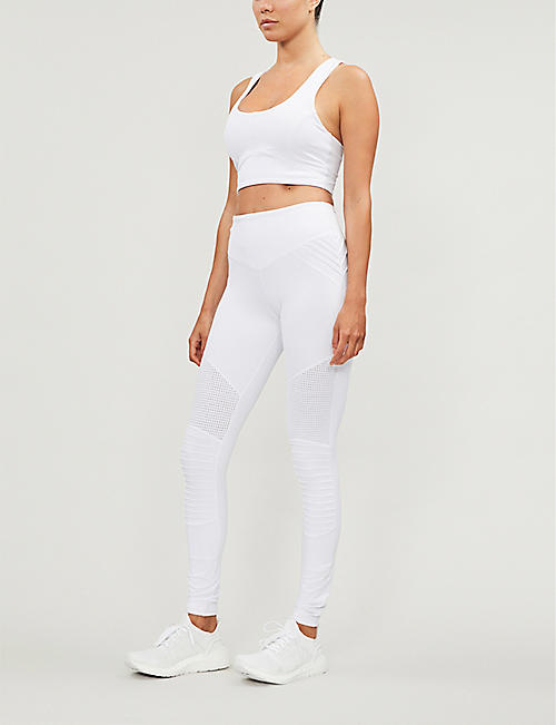 LURV Race Ready Moto stretch-jersey leggings