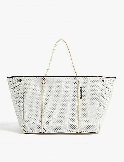 STATE OF ESCAPE Escape neoprene tote bag