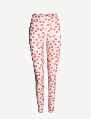 BEACH RIOT Spotted Dotty stretch-jersey leggings