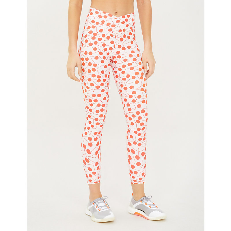 5b5f27736b BEACH RIOT | Spotted Dotty Stretch-Jersey Leggings | Goxip