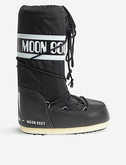 MOON BOOT Logo-embellished nylon snow boots