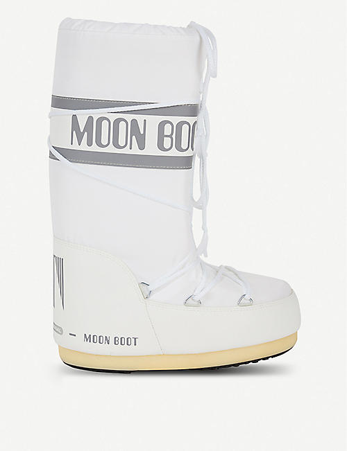 MOON BOOT Logo-print snow boots