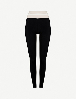 VAARA Thermal Tuxedo stretch-jersey leggings