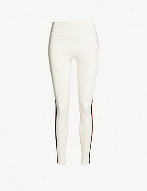 VAARA Tyler side-striped stretch-jersey leggings