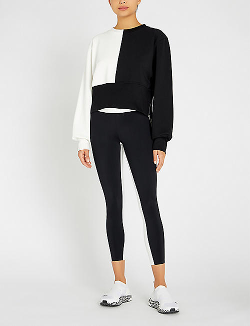 VAARA Maeve colour-blocked jersey sweatshirt