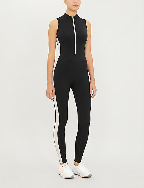 VAARA Thermal stretch-woven jumpsuit