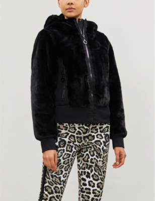 Sunna Reversible Faux Fur And Shell Jacket by Goldbergh