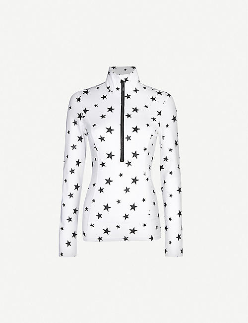 GOLDBERGH Santina star-print stretch-jersey top