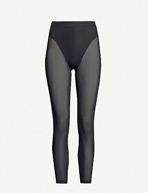 ADAM SELMAN SPORT French Cut high-rise stretch-jersey leggings