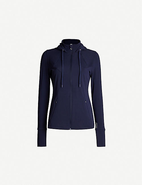 LORNA JANE Cool-Down Excel stretch-jersey jacket