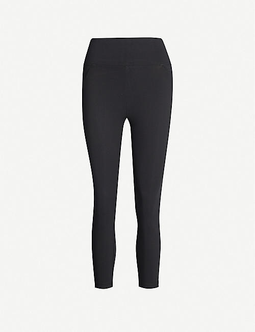 LORNA JANE Amy high-rise cropped stretch-jersey leggings