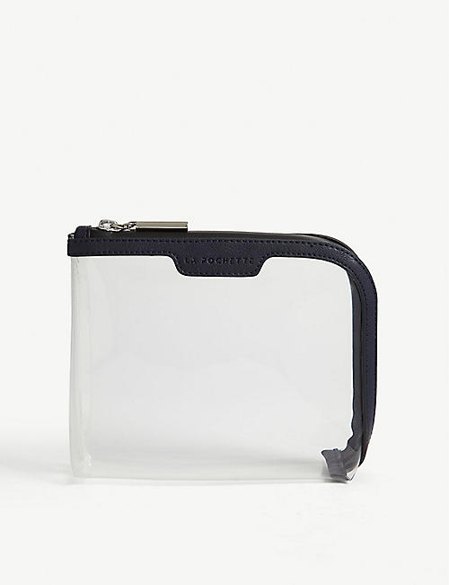 LA POCHETTE Clear travel pouch