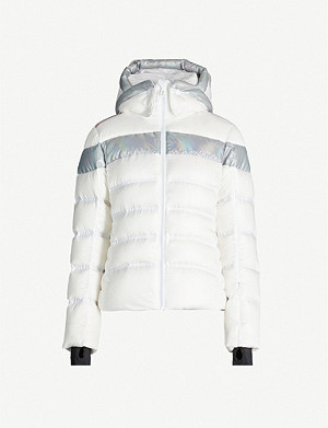 ROSSIGNOL Hiver holographic-trim shell-down jacket