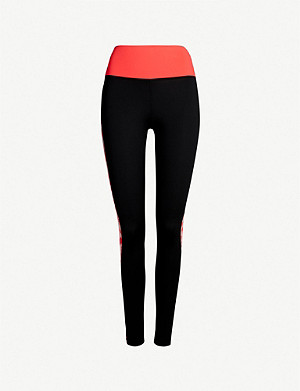 4055fd889abc8 ADIDAS PERFORMANCE · Believe This high-rise stretch-jersey leggings