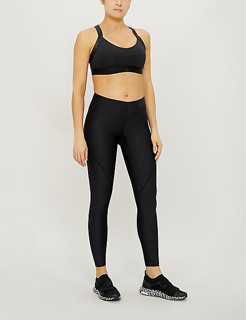 26ed3d8f7 ADIDAS PERFORMANCE Alphaskin 360 logo-print stretch-jersey leggings · Quick  Shop