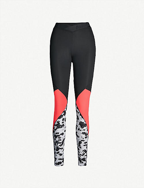 60bcdad4d6a4eb ADIDAS PERFORMANCE Alphaskin Sport Iteration stretch-jersey leggings