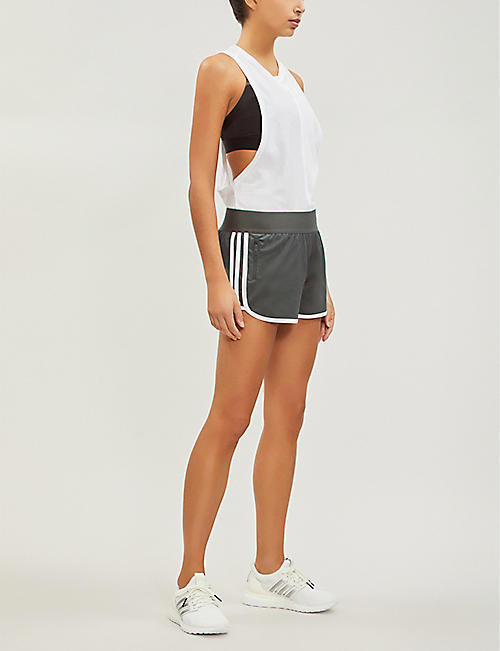 ADIDAS PERFORMANCE ID M10 Athletics cotton-blend shorts
