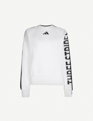 ADIDAS PERFORMANCE The Pack stretch-jersey sweatshirt