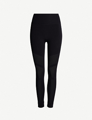 ADIDAS PERFORMANCE Warp Knit stretch-jersey leggings
