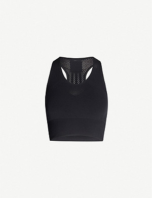 ADIDAS PERFORMANCE Scoop neck cropped vest