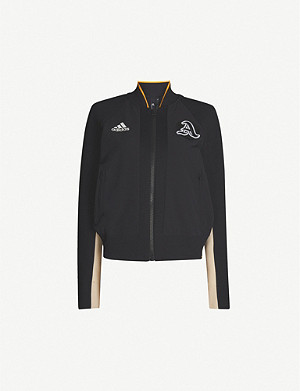 ADIDAS PERFORMANCE VRCT logo-embroidered woven jacket