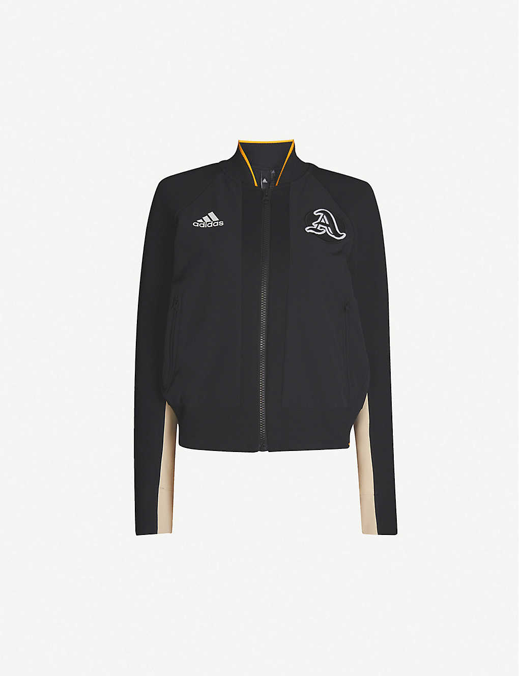 ADIDAS PERFORMANCE: VRCT logo-embroidered woven jacket