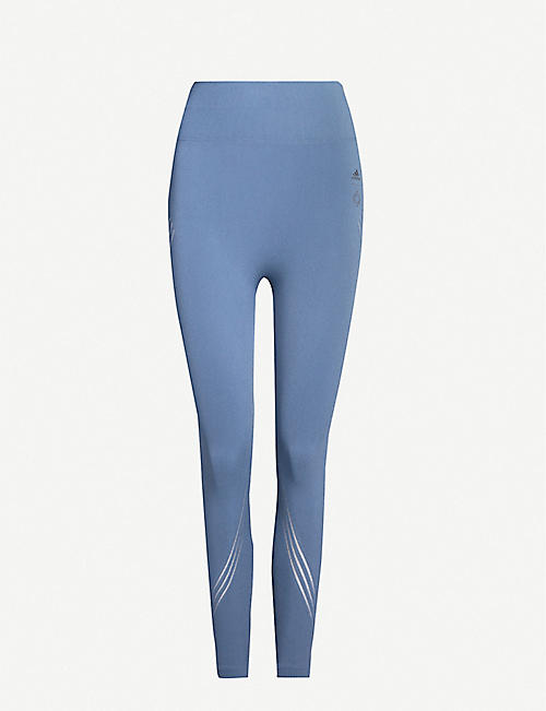 ADIDAS PERFORMANCE Wanderlust stretch-knit leggings