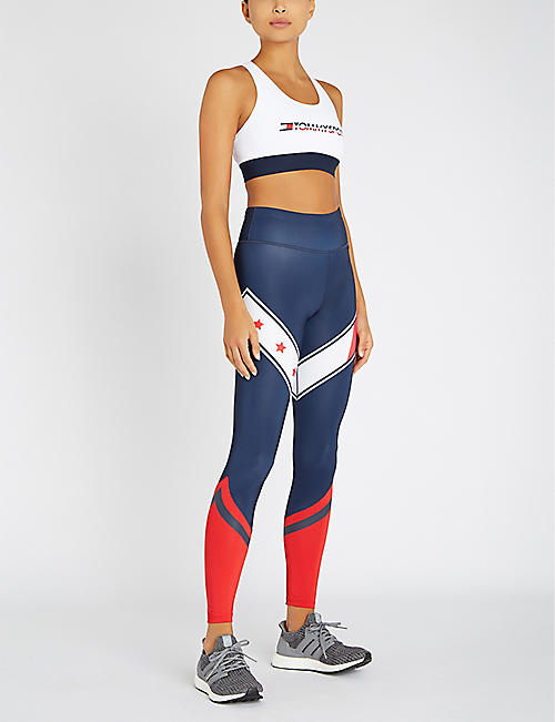TOMMY HILFIGER Stars and stripes stretch-jersey leggings