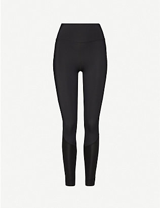 TOMMY SPORT: Logo-print stretch-jersey leggings