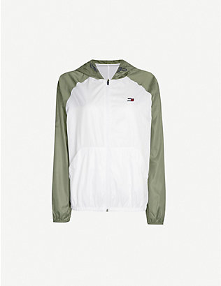TOMMY SPORT: Windbreaker shell jacket