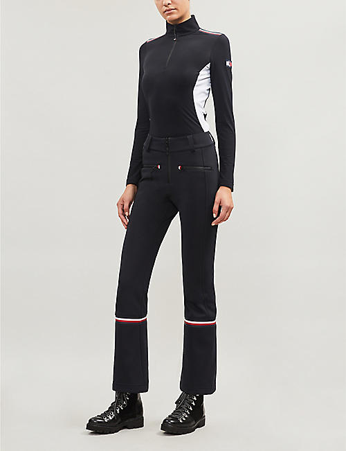 TOMMY X ROSSIGNOL Logo-embellished stretch-woven ski trousers