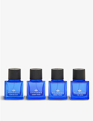 THAMEEN: Eau de parfum 2016 collection box 4 x 50ml