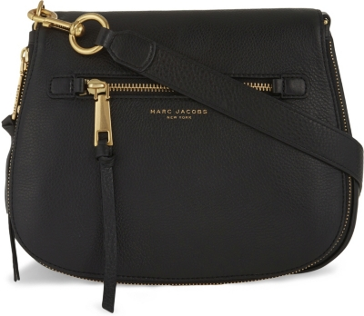 MARC JACOBS Recruit leather saddle bag