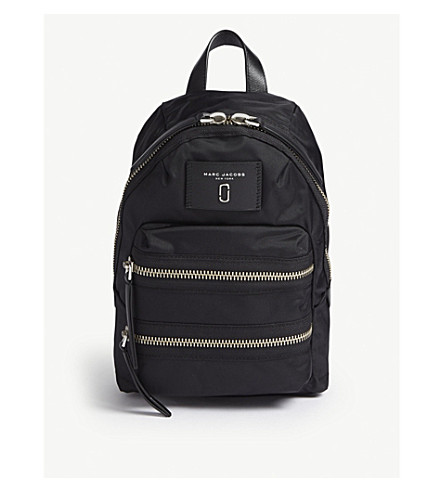 6e4147308dfa7 MARC JACOBS Biker nylon mini backpack (Black