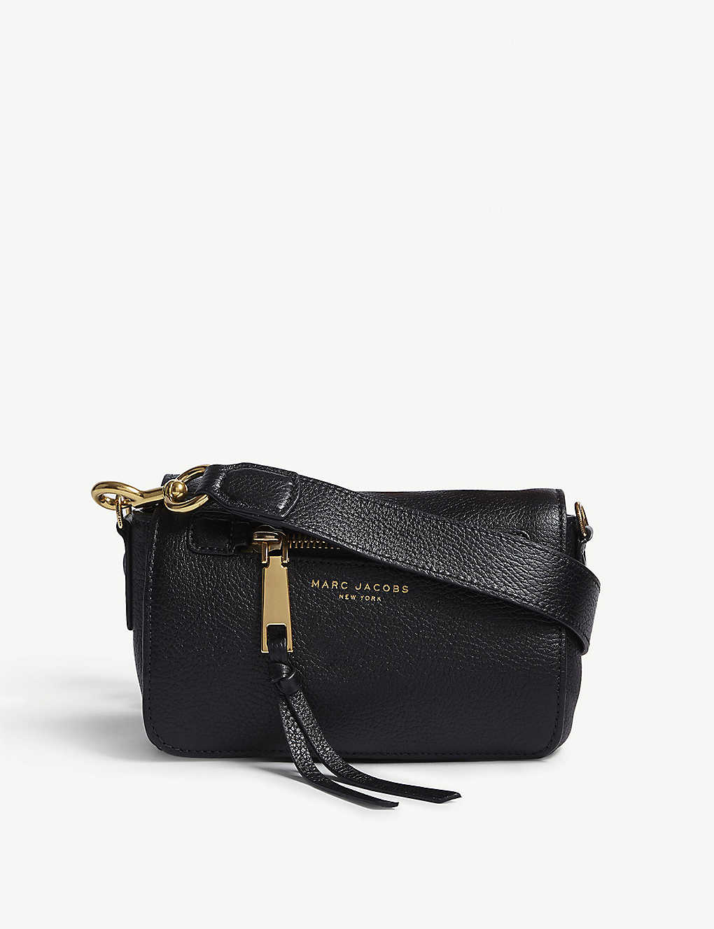9ea5e338b5afc MARC JACOBS - Recruit leather cross-body bag | Selfridges.com