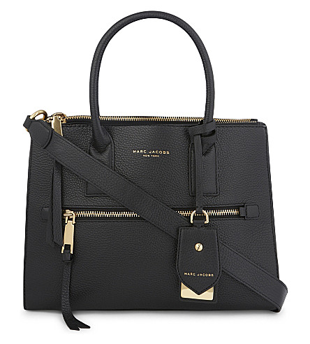 60021ea8aef1 MARC JACOBS - Recruit East West leather tote
