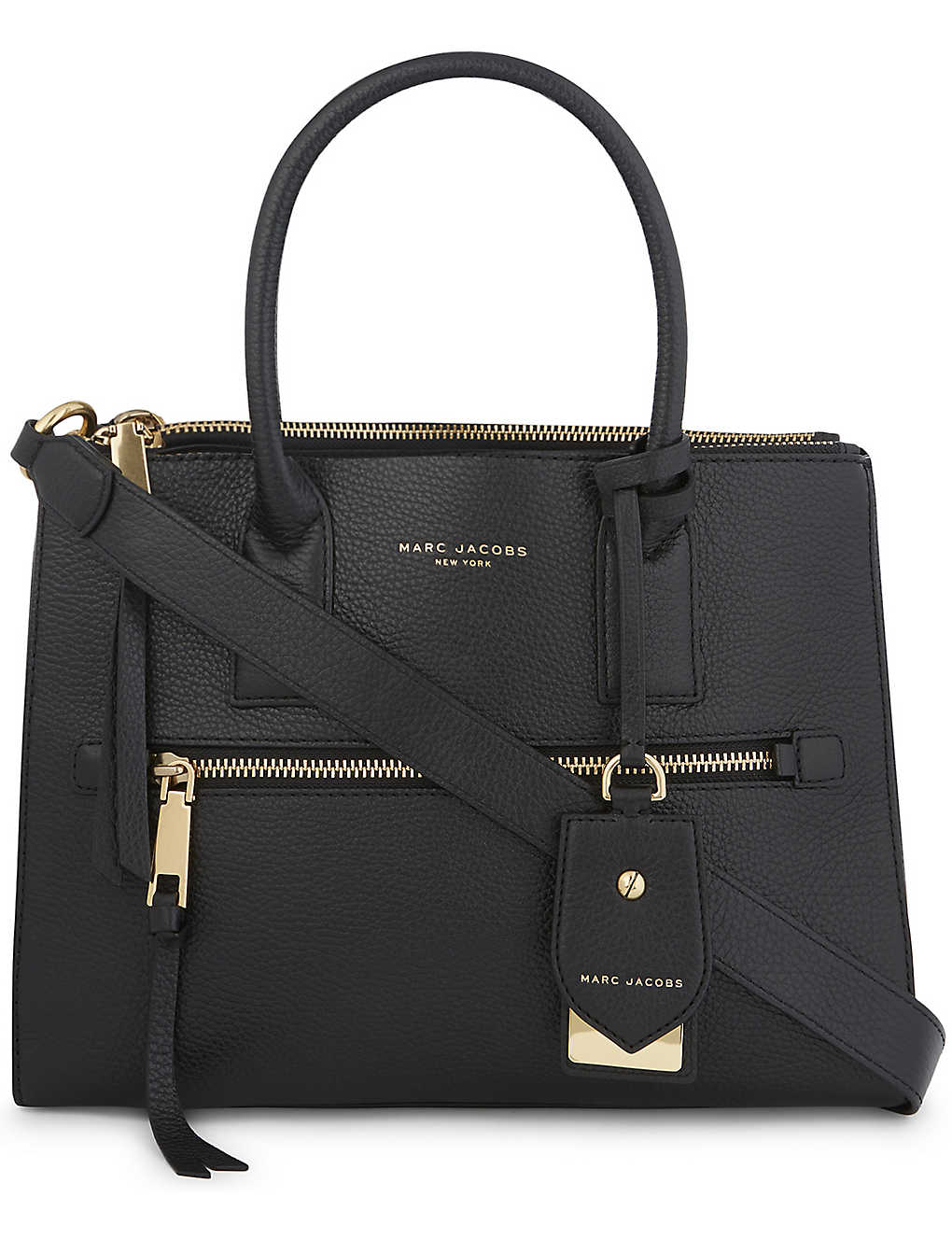 ae485745391e MARC JACOBS - Recruit East West leather tote