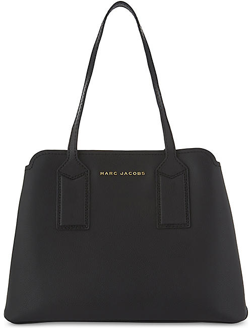 6adb17190e2a MARC JACOBS - The Editor leather shoulder bag