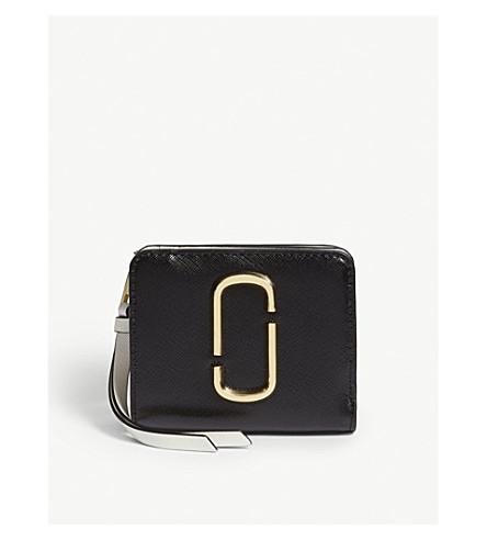 MARC JACOBS - Mini leather companion purse  88cf531da51d9
