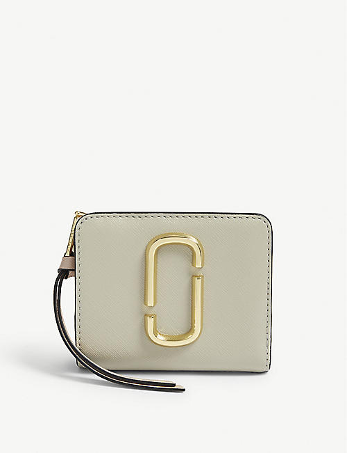 MARC JACOBS: Mini leather companion purse