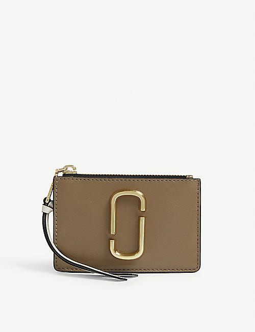 25498ed766261 MARC JACOBS Leather mini wallet