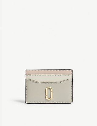 MARC JACOBS: Leather cardholder