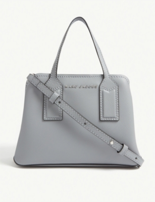MARC JACOBS Editor leather cross-body bag